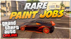 Test Paint Color Online Gta 5 Paint Jobs Best Rare Paint Jobs Online Tron Nebula