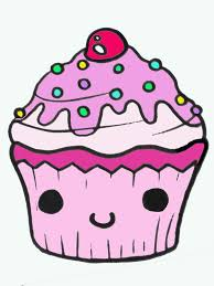 cute cupcake drawing. Modren Drawing Cupcake Line Drawing And Cute W