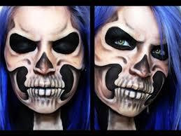 skeletal skull makeup tutorial
