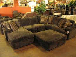 extra deep u shaped sofa with chaise and ottoman gorgeous extra deep sofa designs with