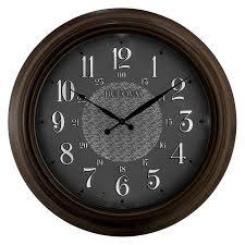 key west indoor outdoor wall clock 24 by bulova