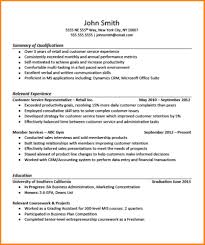 Ideas Collection 6 Professional Summary For Resume No Work