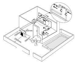 installation tips heatpumps4pools pool heat pump layout diagram jpg