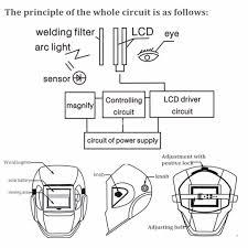 1pc new solar auto darkening welding helmet grinding function mask arg tig lcd
