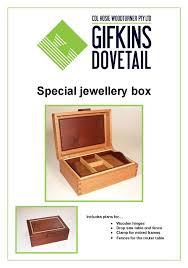 special jewellery box plan