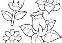 Fiori Disegni Da Stampare Gratis E Da Colorare Per Bambini