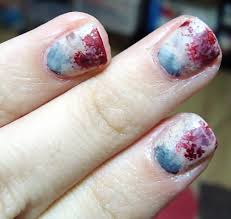 Zombie Nail Manicure! Halloween Nail Art | Polished Love ♥