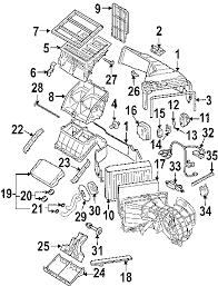parts com® volkswagen touareg evaporator heater components oem 2004 volkswagen touareg v8 v8 4 2 liter gas evaporator heater components
