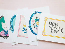 Free Greeting Card Printables Willow Lane Greeting Card Printables Maggie Holmes Design