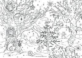 Cool Christmas Coloring Pages Coloring Sheets For Older Students