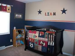 image of baby boy sports crib bedding