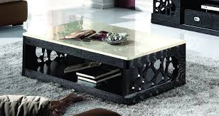 Marble Top Coffee Table TV Stand Living Room Furniture Sets