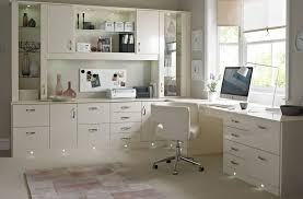 fabulous white color small home. Fabulous White Home Office Ideas With Cabinet And Roller Chair Color Small