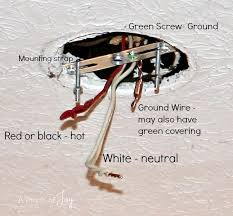 grounding wires lamp mounting strap how to install a light fixture 3light fixture wiring a pinch of joy green