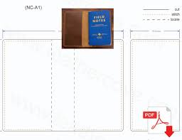 field notes cover pattern pdf