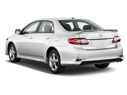 Image: 2012 Toyota Corolla 4-door Sedan Auto S (Natl) Angular Rear ...