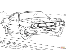 Dodge challenger drawing at getdrawings free for personal use