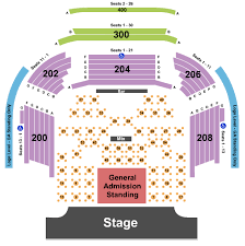 House Of Blues Seating Chart Las Vegas