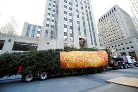 Rockefeller Christmas Tree Arrives In ...