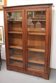Mission Oak Glass-Door Bookcase (SOLD)