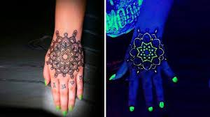 светящиеся краски используют для создания нестандартных тату