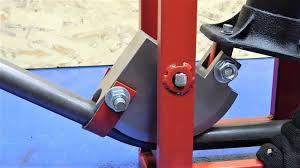 a hydraulic pipe bender from