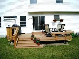 small backyard decks patios deck patio backyard wood small decks patios remodelling home and small backyard