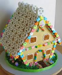 creative gingerbread houses. Modren Creative The Creative Roof Of Pretzels Adds A Certain Charm To This Gingerbread House  With Creative Gingerbread Houses I