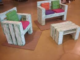 Awesome Kids Table And Chairs From Pallet