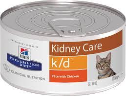 Влажный диетический корм для кошек <b>Hill's Prescription Diet</b> k/d ...