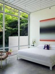 track lighting bedroom. Interesting Lighting In The Master Suite A Painting By Eric Freeman Hangs Over West Elm Bed Throughout Track Lighting Bedroom O