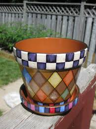 Hand Painted Flower Pots Patterns