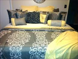 bedrooms small ideas grey gingham comforter percale cozy glamorous large size of gray and blue