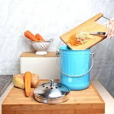 kitchen compost bin diy kitchen compost bucket kitchen maestro 1 gallon counter top stainless steel compost kitchen compost bin