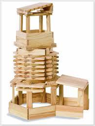 Wooden Bricks Game Wood Eichhorn 17