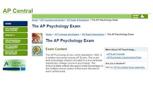 teaching high school psychology ap psychology response ap psychology response questions updated to 2014