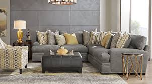 Gray Living Room Simple Decorating Ideas