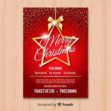 Christmas Flyer Templates Best Free Premium Christmas Posters And Flyer Templates