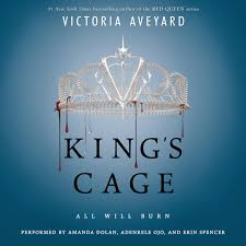 kings cage audiobook by victoria aveyard printable king s cage audiobook cover art