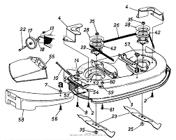 Mtd 13a747gf062 1997 parts diagram for mowing deck 38 inch rh jackssmallengines mtd 38 mower deck diagram mtd mower deck assembly