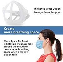 <b>3D Face Mask</b> Bracket <b>Inner</b> Support Frame Nasal Mask Pad ...