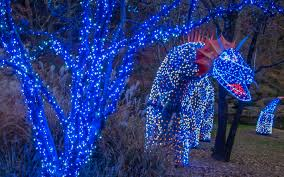 with over 4 5 million lights there are displays to dazzle everyone in your party photo courtesy of garvan woodland gardens