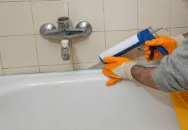 how to caulk a shower tub
