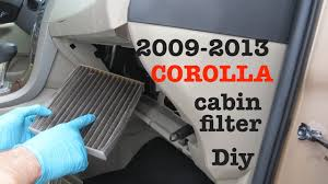 How to change your <b>2008 - 2013 Toyota Corolla</b> Cabin Air Filter ...