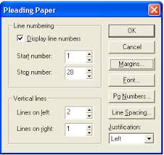 Pleadings Paper Wordperfect Office Tutorials