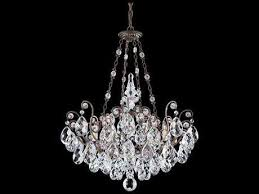 schonbek renaissance eight light 26 wide grand chandelier