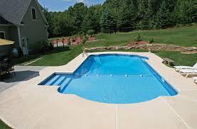 Inground Pool Roman End Pool Hot Tub Village