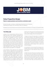 Value Proposition Design Book Pdf Download Pdf Book Review Of Value Proposition Design