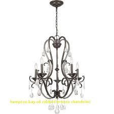 hampton bay oil rubbed bronze chandelier inspirational hampton bay ihx9115a 5 light oil rubbed bronze crystal