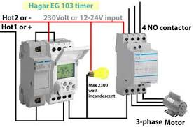 din rail timers and manuals fuse holder timer contactor
